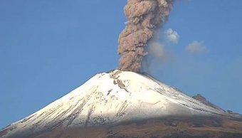 Instalan nuevos equipos para monitorear actividad del Popocatépetl