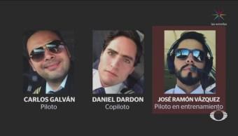 Cesan a los tres pilotos del vuelo Aeroméxico accidentado