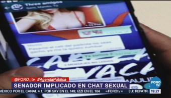 Chat Senador Pan Refleja Machismo Hipocresía