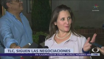 Chrystia Freeland regresará este semana a Washington por TLC