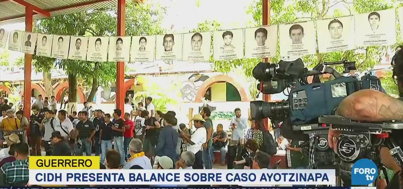 CIDH presenta informe sobre caso Ayotzinapa