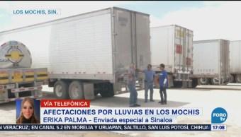 Cierran Paso Circulación Entre Sonora Sinaloa
