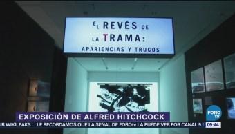 Cineteca Nacional abre exposición de Alfred Hitchcock