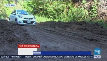 Colima Espera Lluvias Intensas Fuertes Clima Inundaciones