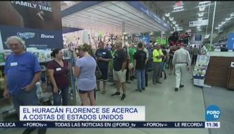 Cómo se preparan en EU ante el huracán Florence