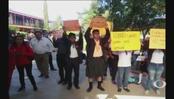 Con Faldas Estudiantes Oaxaca Protestan Acoso Sexual