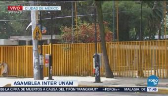 Concluye Asamblea Interunam Prepa 5 UNAM CDMX