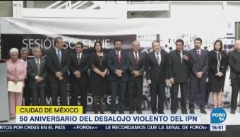 Conmemoran desalojo violento del IPN