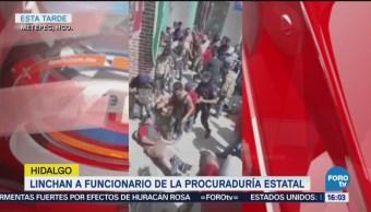 Turba Lincha Agente Hidalgo Crimen Inseguridad
