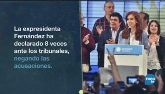 Cristina Fernández Juicio Con Fuero Argentina
