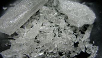 Policía Federal asegura 14 kilos de crystal en Sinaloa