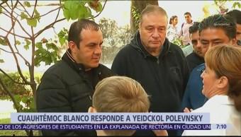 Cuauhtémoc Blanco niega que ofrezca dinero a diputados en Morelos