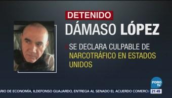 Dámaso López Declara Culpable Estados Unidos