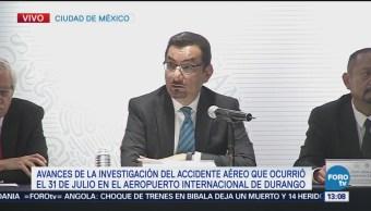 Dan detalles del accidente del avión de Aeroméxico en Durango
