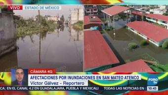 Desbordamiento de Río Lerma afectó 980 casas