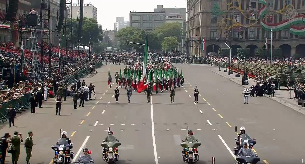 Conozca la ruta del desfile del 16 de septiembre en la CDMX