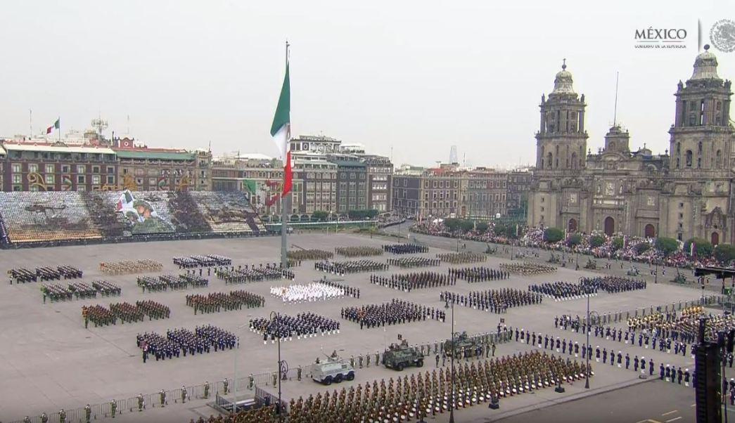En vivo: Desfile militar por 208 aniversario de la Independencia de México
