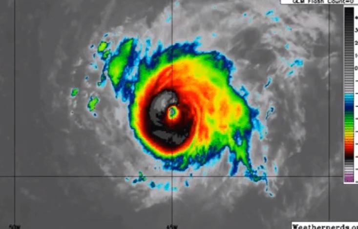 Florence se convierte en huracán categoría 3; aquí su trayectoria