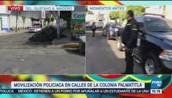 Detenido por Intento de robo a casa habitación en Palmatitla
