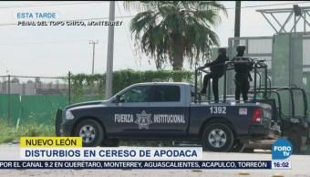 Disturbios Penal Apodaca Nuevo León Topo Chico