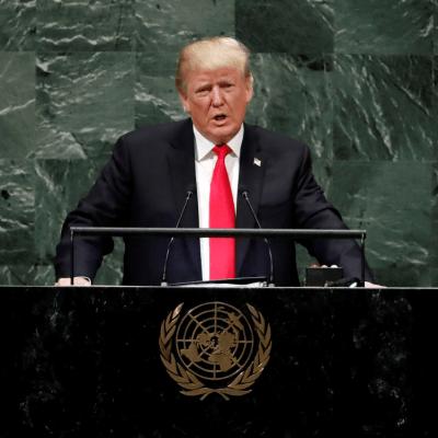 Trump pide al mundo 'aislar al régimen de Irán'; habla ante la ONU
