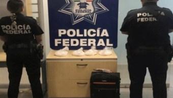 Droga en Sinaloa, aseguran crystal en autobús de pasajeros