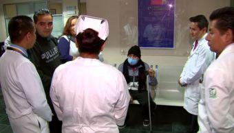 Durante sismo del 19S, médicos de la Raza trasplantan riñón