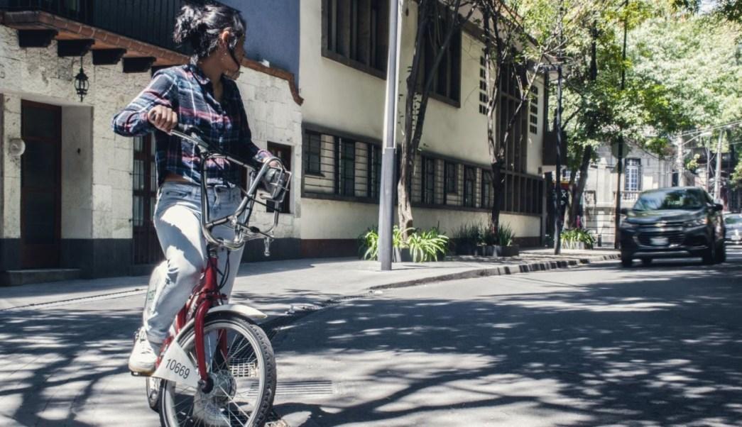 Celebran Día Mundial sin Auto en la CDMX