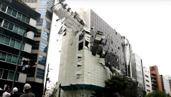 Jebi Video Tifón Japón Devastación Destrucción