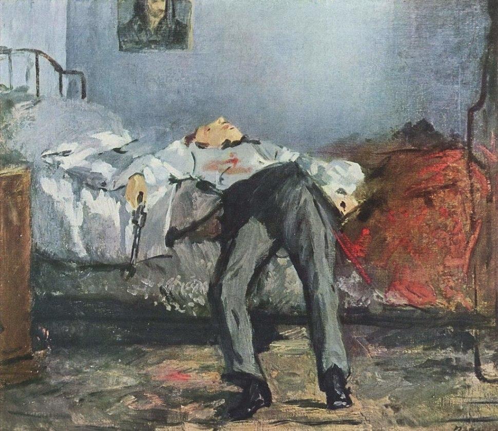 Edouard-Manet-El Suicidio