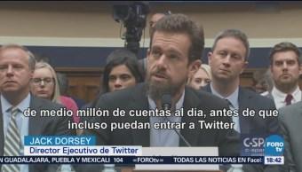 Twitter y Facebook testifican ante el Senado de Estados Unidos