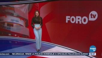 El clima, a las 18:00 horas, Mayté Carranco, [05-09-2018] El clima con Mayté Carranco