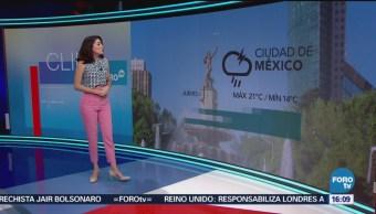 El Clima, A las Tres, Daniela Álvarez, [06-09-2018],