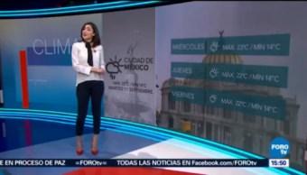 El Clima 'A las Tres' con Daniela Álvarez [11-09-2018]