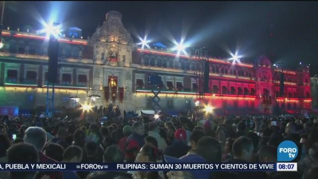 Color Del Grito Independencia Zócalo CDMX