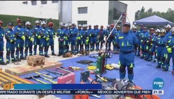 Equipo Búsqueda Rescate Urbano Secretaría Marina