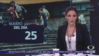 Suman 25 los estudiantes de la UNAM expulsados tras agresión