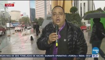 El Reporñero entrevista transeúntes en Reforma