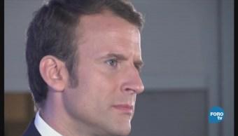 Emmanuel Macron y su popularidad a la baja