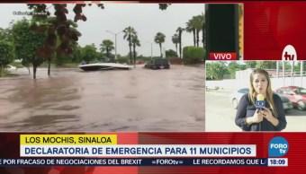 Empiezan Desfogues Presas Sinaloa