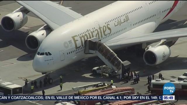 En Nueva York, ponen en cuarentena a pasajeros de avión procedente de Dubái