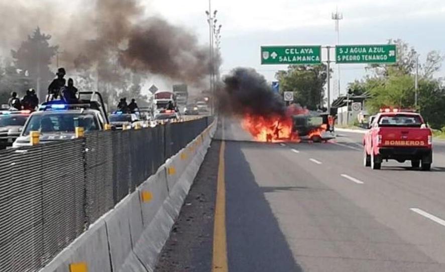 Élite de Policía Federal abate a ocho presuntos delincuentes en Guanajuato
