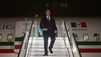 Peña Nieto llega a Nueva York para Asamblea General ONU