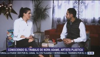 Entrevista Nora Adame, Artista Plastic Bryan Mendoza Mexicana Textiles Y Cerámica