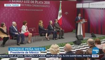 EPN entrega Premio Luz de Plata 2018 Bosque de Chapultepec