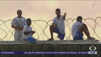 Escapan 92 presos de cárcel de máxima seguridad en Brasil