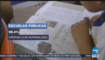 Escuelas CDMX Operan Normalidad Año Después Del 19S
