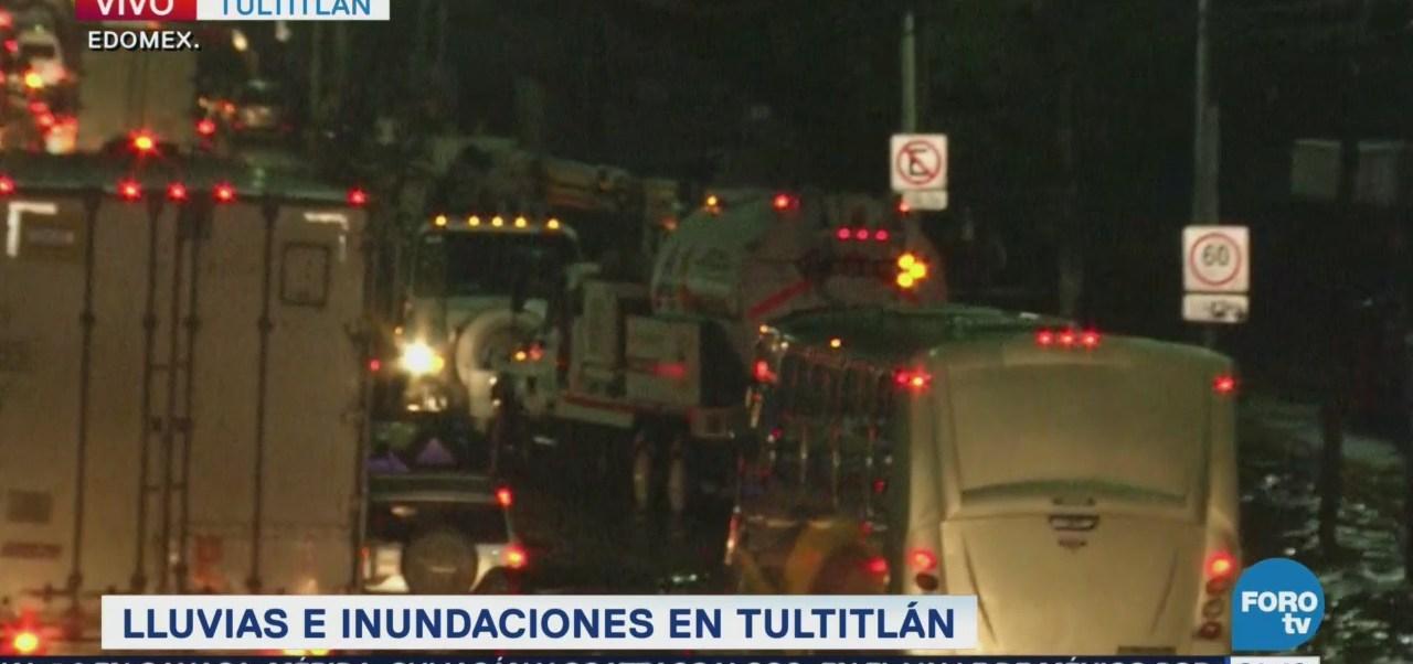 Estado De México Afectado Por Lluvias López Portillo