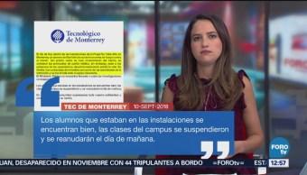 Estudiante se suicida en Prepa Tec Valle Alto de Monterrey