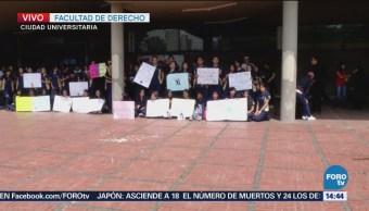 Estudiantes De La UNAM Realizan Asamblea Universitaria Facultad De Derecho